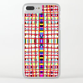 Long Straws - Stroke Series 001 Clear iPhone Case