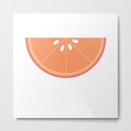 Grapefruit Metal Print