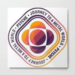 Psyche Mission Logo Metal Print