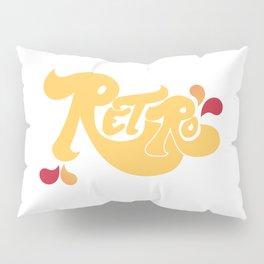 Retro Type and Pattern Design Pillow Sham