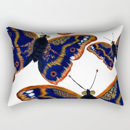 Purple Emperor Butterflies Rectangular Pillow