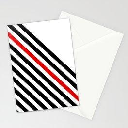 80s stripes Stationery Cards