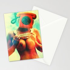 SEX ON TV - CALL ME by ZZGLAM Stationery Cards