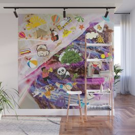 Summer Doner Kebab Wall Mural