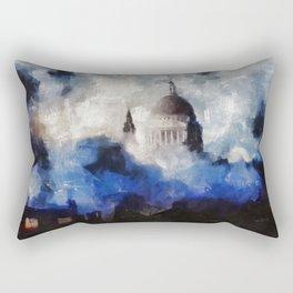 The Blitz, WWII Rectangular Pillow