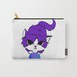 Kitty B Not Silent Carry-All Pouch