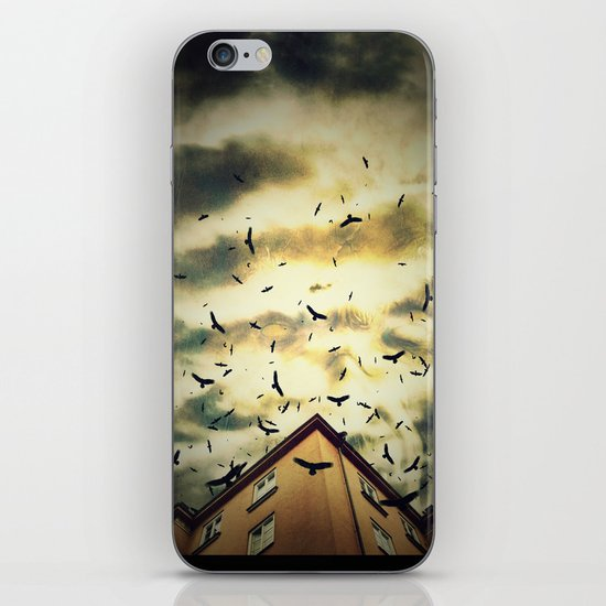 Somebody is watching you iPhone & iPod Skin