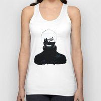 tokyo ghoul Tank Tops featuring TOKYO GHOUL by villian