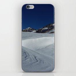 Gemmipass above Leukerbad, Valais, Swiss Alps II iPhone Skin