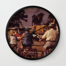 Tricycle Club Wall Clock