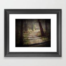 Wicked Woods Framed Art Print