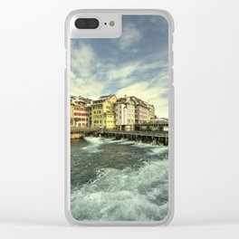 Weir of Lucerne Clear iPhone Case