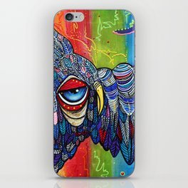 Street Wise Owl 2 iPhone Skin