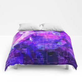 It's Just Not Gonna Happen < The NO Series (Purple) Comforters