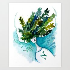 Mother N Art Print