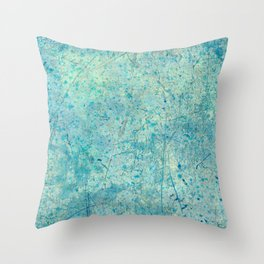 Beautiful, Wounded, Scarred Throw Pillow