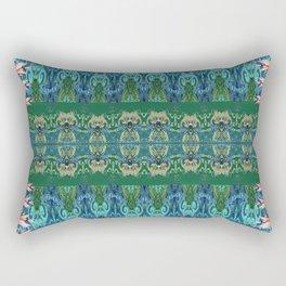 Nature at the Edge of Time Rectangular Pillow