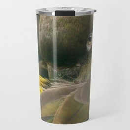 Burrowing Parrot Travel Mug