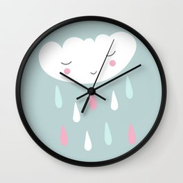 Cute cloud Wall Clock