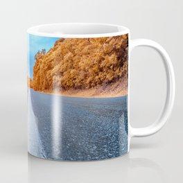 Infrared Road Coffee Mug