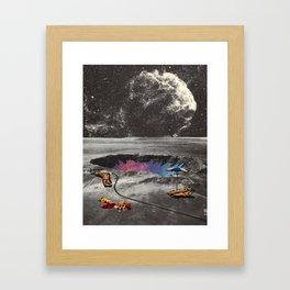 Supernova/Gemini Framed Art Print