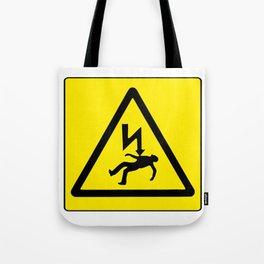 Danger Electricity Tote Bag