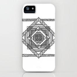 Mandala III iPhone Case
