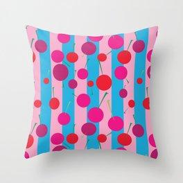 Cherry Topping Throw Pillow