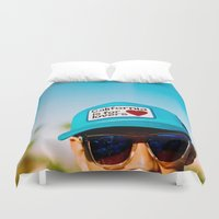 coachella Duvet Covers featuring California is for Lovers by Tosha Lobsinger is my Photographer