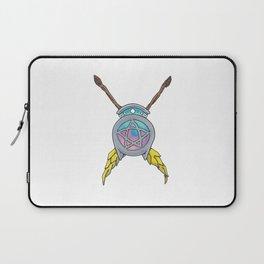 Crossed Broomsticks Laptop Sleeve