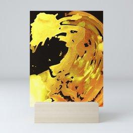 GOLDFALL Mini Art Print