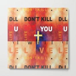 Stop War_01 by Victoria Deregus Metal Print