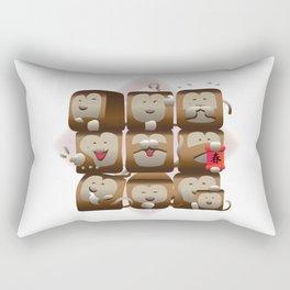 Monkey set1 Rectangular Pillow