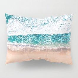 Faded ocean life Pillow Sham