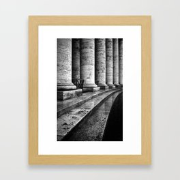 Colonnade 2 Framed Art Print