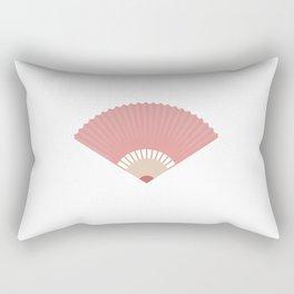 Asian fan Rectangular Pillow