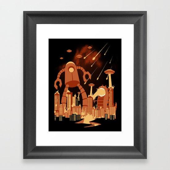 Armageddon Framed Art Print