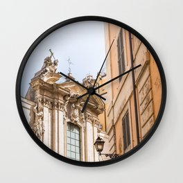 Somewhere in Rome Wall Clock