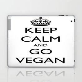 Keep Calm and Go Vegan Laptop & iPad Skin