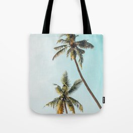 Palm Tree Beach Summer Tote Bag