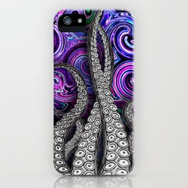 squiggly iPhone Case