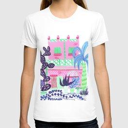 Marettimo I // Facades City design serie // Gouache painting View: All T-shirt