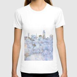 Lincoln Nebraska Skyline T-shirt