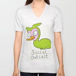 Social Outcast Unisex V-Neck