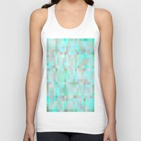 mint Tank Tops featuring Mint by WhimsyRomance&Fun