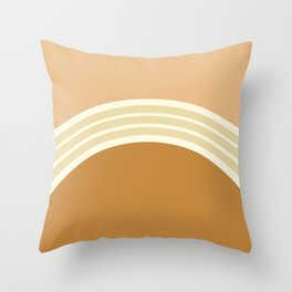 one day – earthen clay layers 2 Throw Pillow