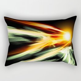 Outrage Anomaly Rectangular Pillow