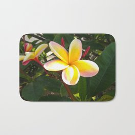 Flower in North Shore, Hawaii Bath Mat