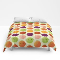 Cutie Fruity (Watercolour) Comforters