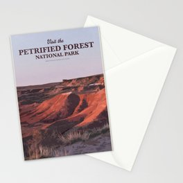 Visit the Petrified Forest National Park Stationery Cards